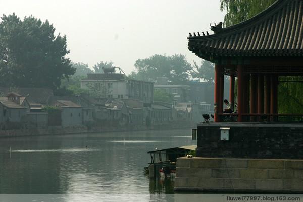 宫墙、角楼、路标、护城河畔 - 刘炜大老虎 - liuwei77997的博客