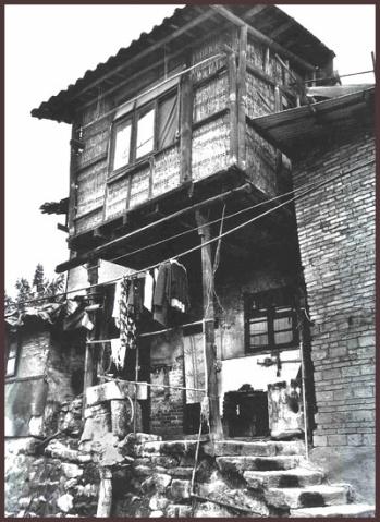 重庆老照片—吊脚楼