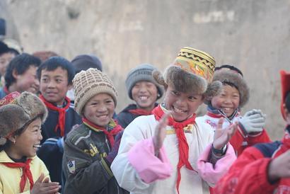 """""""山寨""""小学的孩子用上了电脑 - 杨小燕 - 涅磐中的观察与思考"""