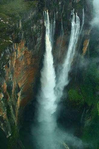 世界九大壮丽瀑布:最高瀑布落差979米(组图) 收藏  - 牧笛 - 牧笛的庄园 ....翠花上茅台!!