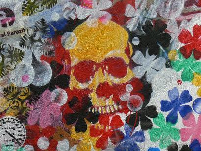 巴黎街头涂鸦---来自法兰西的问候 - 文阁绘画工作室 - yangwenge923 的博客