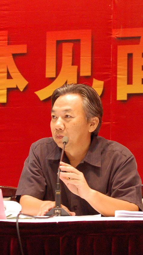 图文:西影成立五十年发布会--西影厂长延艺云
