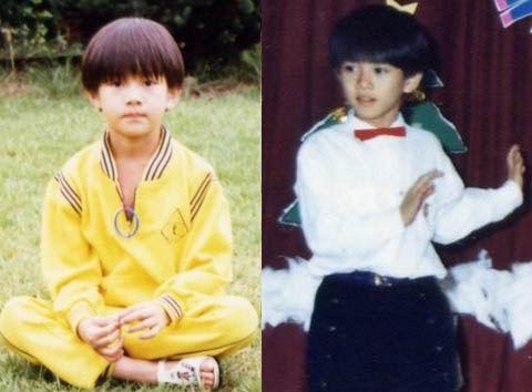 些都是哪些韩国明星的小时候PP图片