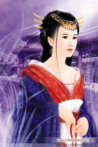 传说中的中国美女