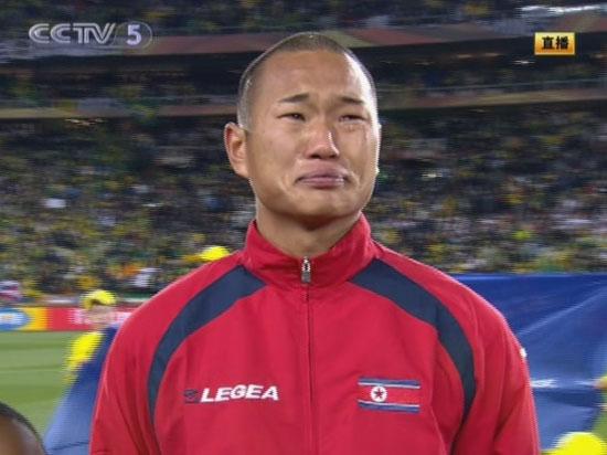 朝鲜鲁尼1颗爱国心!郑大世唱国歌竟泪流满面(图)