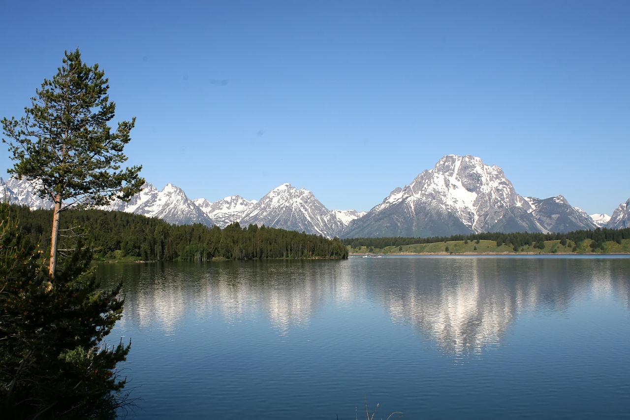 美国风景秀丽的大题顿国家公园影集 - lishengyuan8 - lishengyuan8的博客