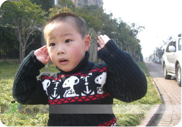 四岁小P孩儿的兔年喜事(年味照)