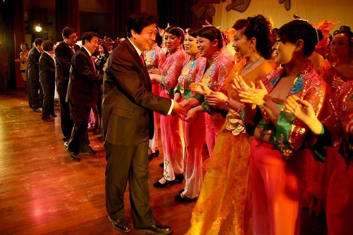 【原创】单位的2009年职工新春联欢会 - 大阿福 - 大阿福的博客