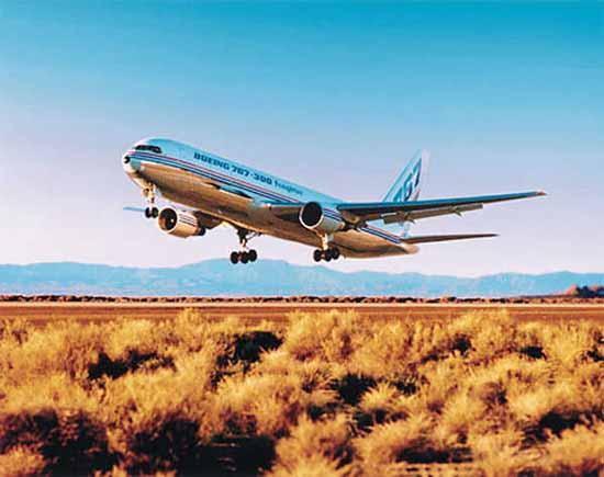 波音飞机机型介绍——波音B767 (Boeing B767) - 天外飞熊 - 天外飞熊