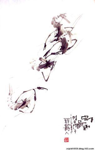 原创】小品花鸟组图 - 关中醉人 - 徐保林花鸟画