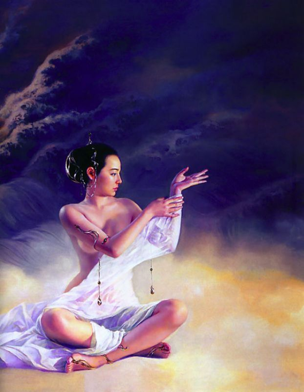 爱江山更爱没人- 温柔细雨 - 一丝小雨盈盈而落.....