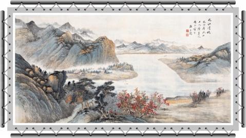 引用  钓鱼台国宾馆收藏的八幅国画 -  三月飞春雪 - 三月飞春雪