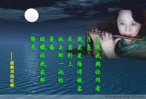 我在诗里感受生命的激情(疏勒河的红柳原创) - 疏勒河的红柳 - 疏勒河的红柳