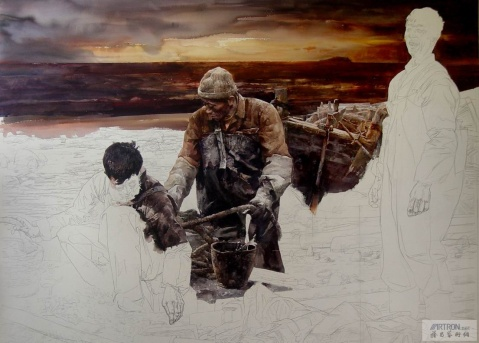 王绍波的水彩画 - 隋思敬 - 隋思敬的油画和博客