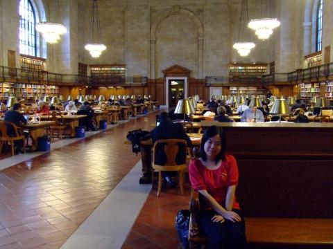 纽约第五日:纽约公共图书馆 百老汇 - 程子 - 程子在这里