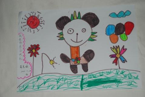 教师节儿童画画图片大全