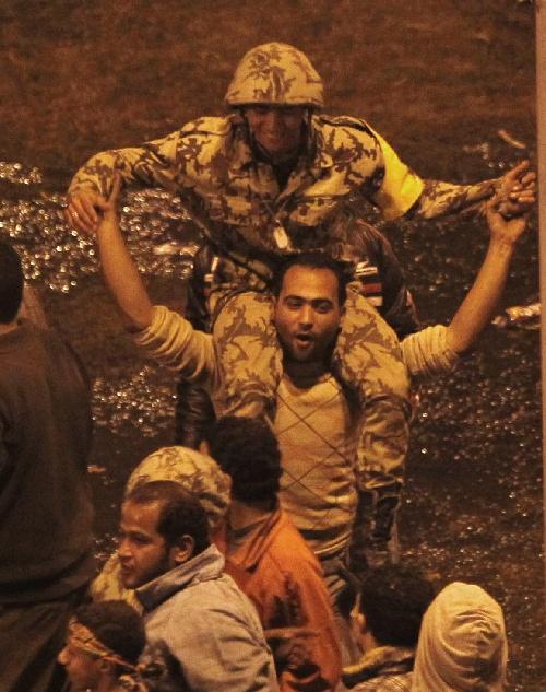 2011埃及开罗人民在哭泣 - 姚省博客 - 穆斯林学习在线