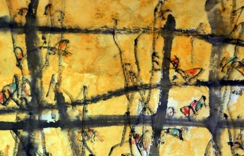 画家道白(3) - 苏文 - 中国当代美术家——路中汉
