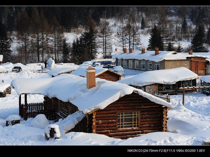 雪乡全景 - 西樱 - 走马观景