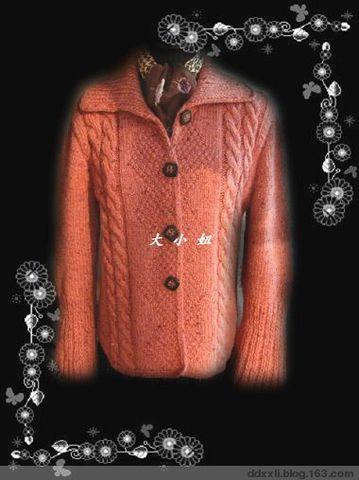 休闲翻领衣(12.3完工) - 大小 - 寄居蟹的小屋