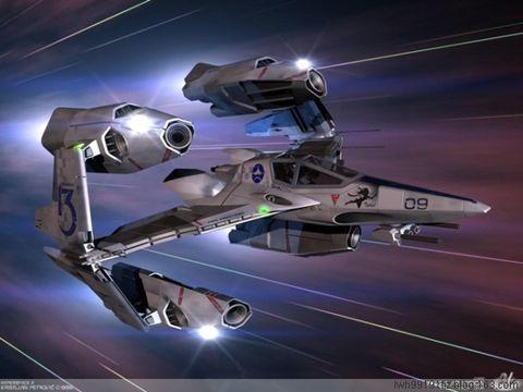 我的科幻飞机 - 开心一族(生气者) - 开心一族的博客