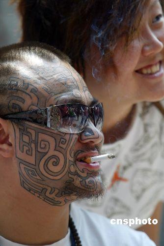 世界纹身爱好者聚北京展现叛逆标志 [摘自 中国新闻网] - 青木洋子 - 陈州客栈