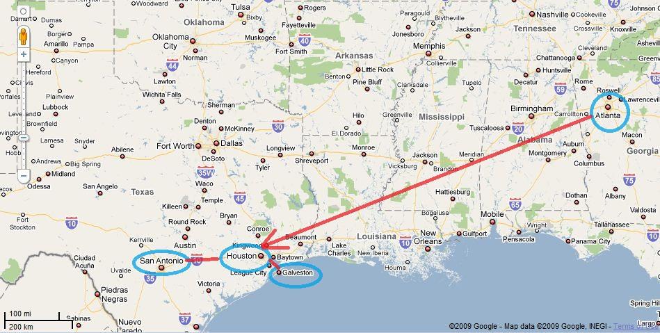 Houston Trip