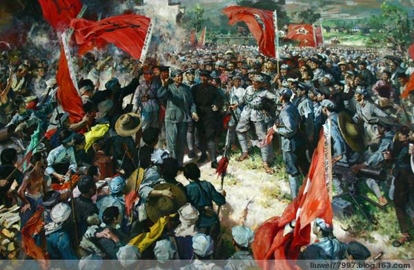 红色题材油画欣赏(2) - 刘炜大老虎 - liuwei77997的博客