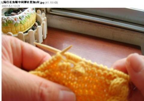 金鱼衣的织法 - 蝶舞天涯的日志 - 网易博客 - wsgxnnr - 我的世界