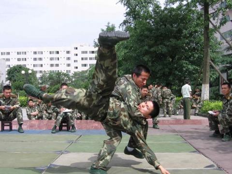 军人图片----武警训练考核 - 披着军装的野狼 - 披着军装的野狼