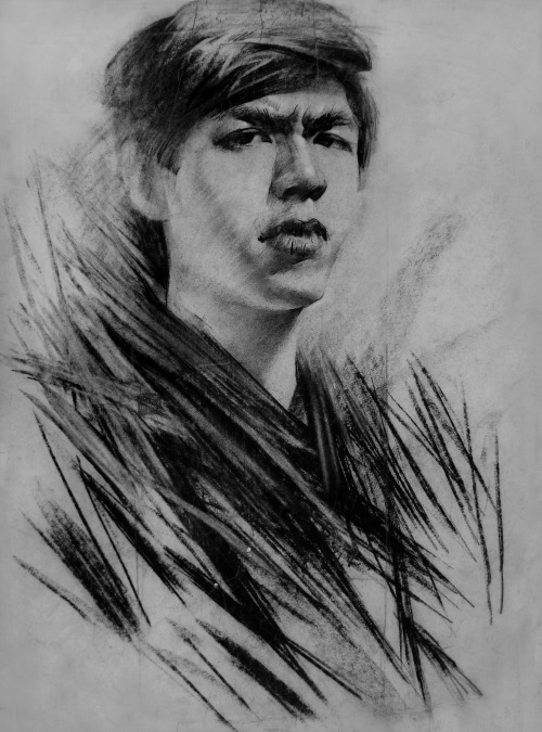 杨凤立自画像系列 - 迈高画室 - ———高考美术、基础美术培训基地