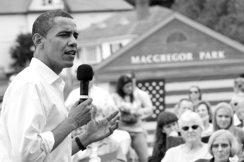 Barack Obama巴拉克.奥巴马---美国新任总统 演讲speech---- Change Has Come To America - 鹏程万里 - 我的大学生活