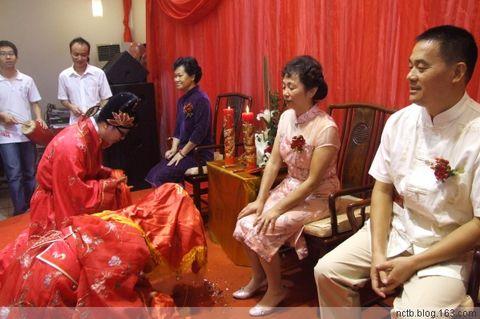 中式婚礼图片