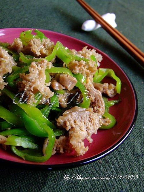 尖椒炒海葵---(30道本味海鲜学做地道的南海沿儿媳妇 - 可可西里 - 可可西里