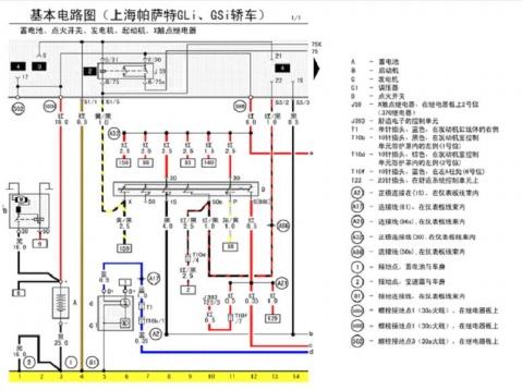 gsi(2005年款)电气线路图(1)