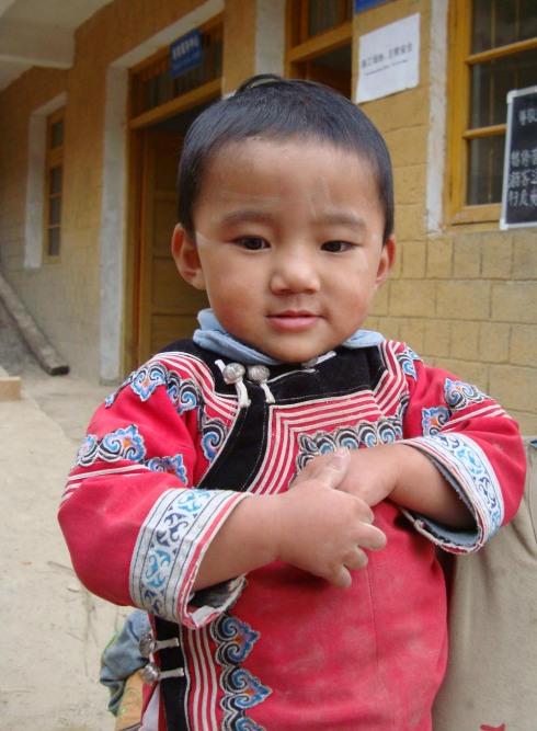 滇南散记十三:可爱的少数民族人物 - 苏泽立 - 苏泽立的博客