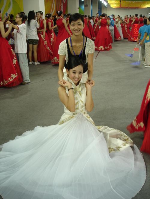 2008北京奥运会中国代表团旗手于佩 - 蓝颜 - 知马力的博客