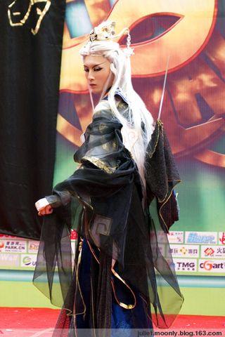 ★圣壹堂★08CJ霹雳刀戡cos比赛照片 - 蓝晓月 - 死神的第七个女儿的黑色宇宙