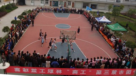 缤彩激烈的篮球赛 - hjn4708 - 腾  啸