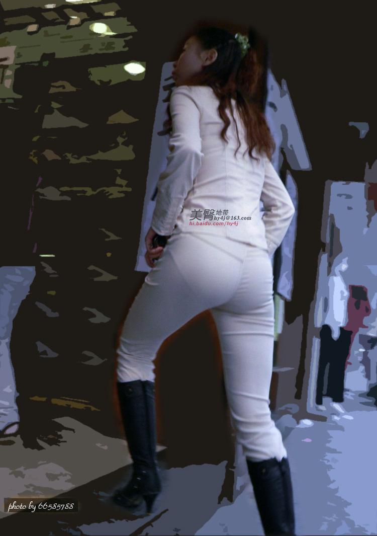 【转载】白色套装MM,臀形不错. - l13693717003潇洒人生 - l13693717003的博客