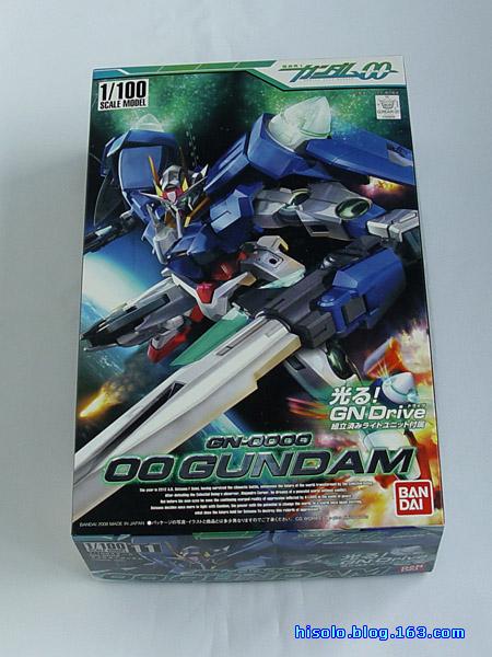 【模型】00 Gundam 1/100 - SOLO - Solos Space