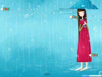 仲秋有雨的夜