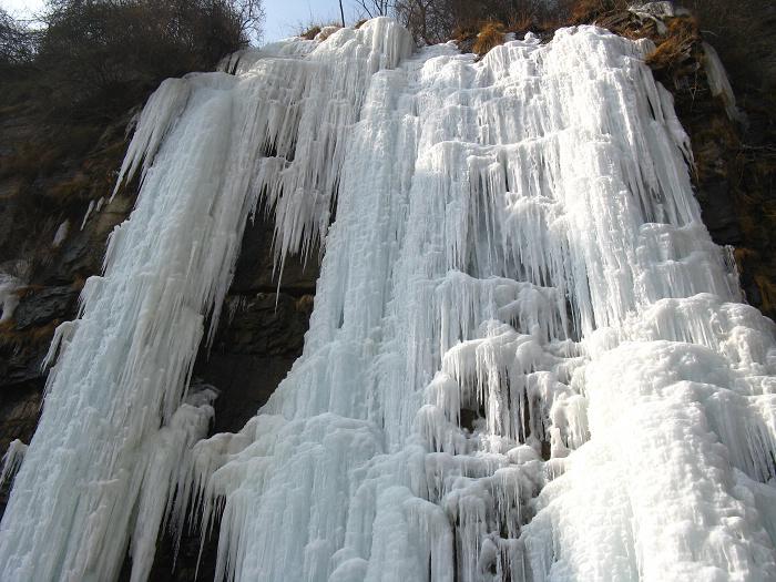 正月初十登山  关岭沟--核桃凹--黄华 - 漂泊   - 漂泊的博客