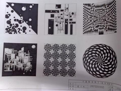 点线面设计_点线面设计黑白图_好看的版式设计点线面