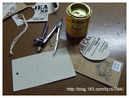 DIY牛仔布车花笔筒 - lq - LQ的博客