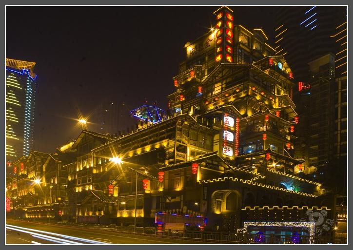 重庆人民大礼堂、洪崖洞夜摄 - 雪鼠 - 雪鼠影像空间