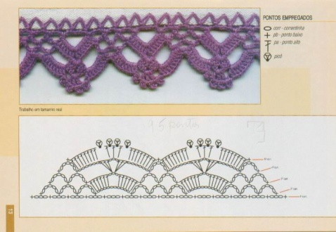 钩针花边 - 紫雨露轩 - 紫雨露轩