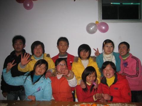 原创参加班级元旦联欢  与学生同乐[图文] - 微尘 - 消化百味  享受快乐