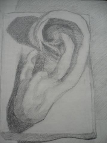 素描---耳朵 - 薄荷之翼 - 薄荷之翼的博客