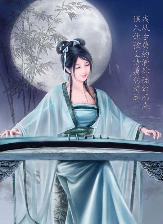 (原创诗)月亮传情 作者 百合天使 - 百合天使 - 百合天使